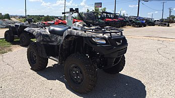 2017 Suzuki KingQuad 750 for sale 200437257